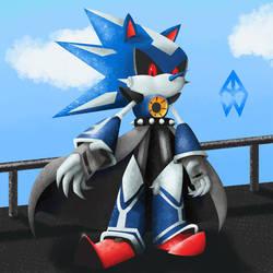 Neo Metal Sonic Repaint