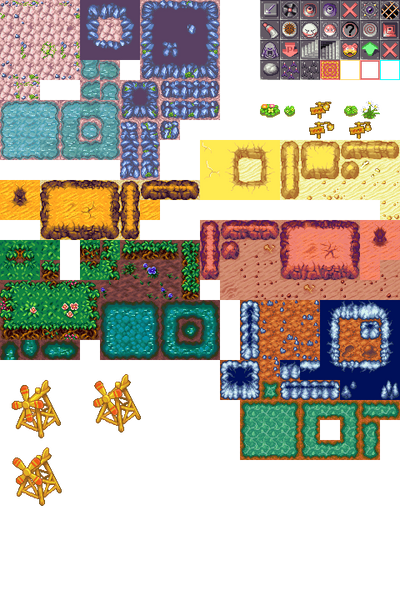 Pokemon Mystery Dungeon 2: Dungeon-Tileset by Phyromatical