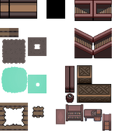 Tons of Tileset 4/10 - Shipwreck interior by Phyromatical