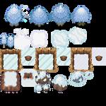 Tons of Tileset 5/10 - Cool Gaia Tiles