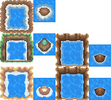 Tons of Tileset 6/10 - Alternate Gallanty Water by Phyromatical