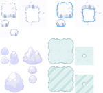 Tons of Tileset 8/10 - Ice Floe Tileset