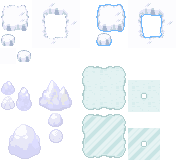 Tons of Tileset 8/10 - Ice Floe Tileset by Phyromatical