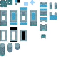 DoT Day4 - Water Dungeon Tileset by Phyromatical