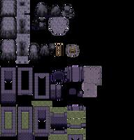 DoT Day18 - Dark Ruins tileset by Phyromatical