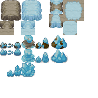 DoT Day19 - Mixed Cave-Tileset by Phyromatical