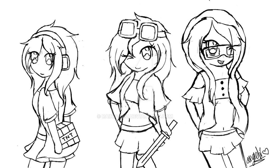 Thinknoodles minecraft coloring pages coloring pages for Skydoesminecraft coloring pages