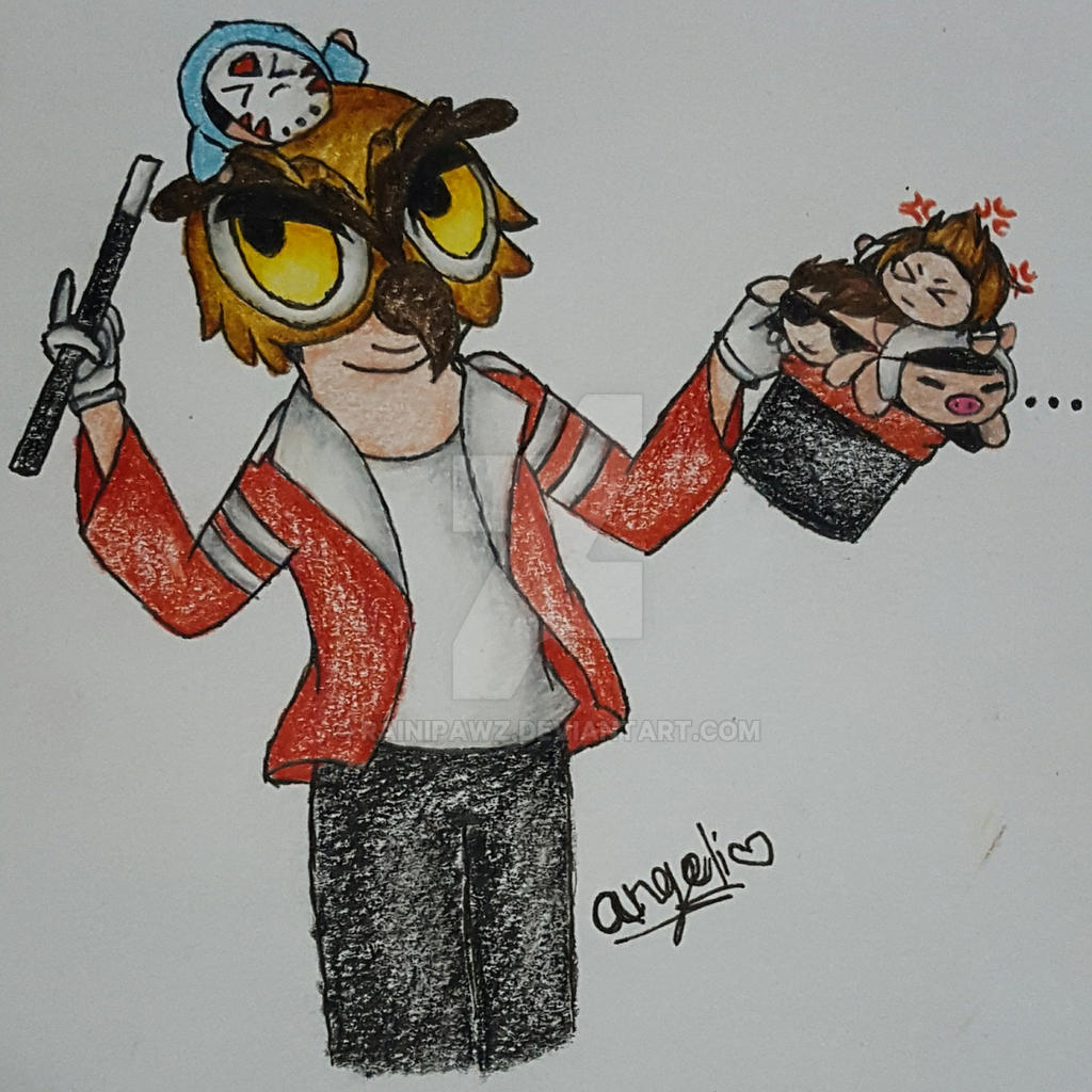Hoodini~ by RainiPawz on DeviantArt H20 Delirious Drawings