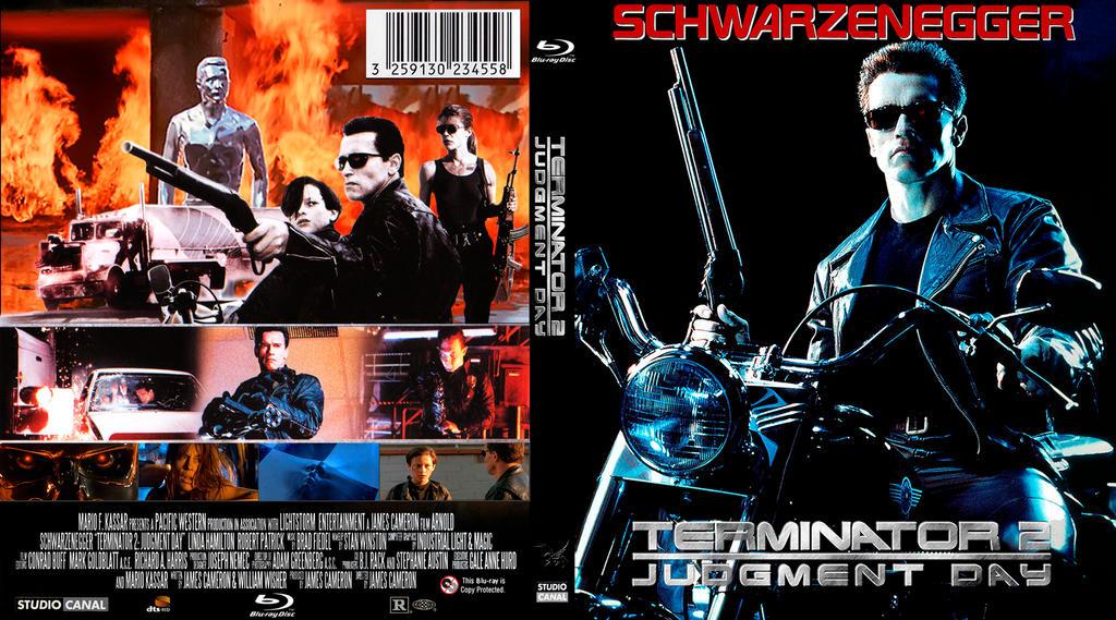 Amazon.com: Terminator 2 HD DVD: Movies & TV  |The Terminator 2 Cover