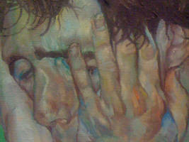 Detail from new painting