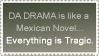 Da Drama stamp by chutkat
