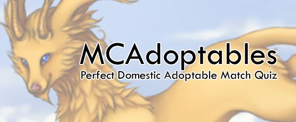 Perfect Adoptable Match Quiz 1 by chutkat