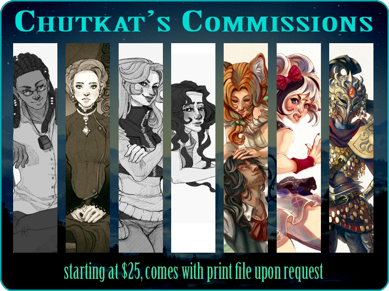 Commissions Open~ by chutkat