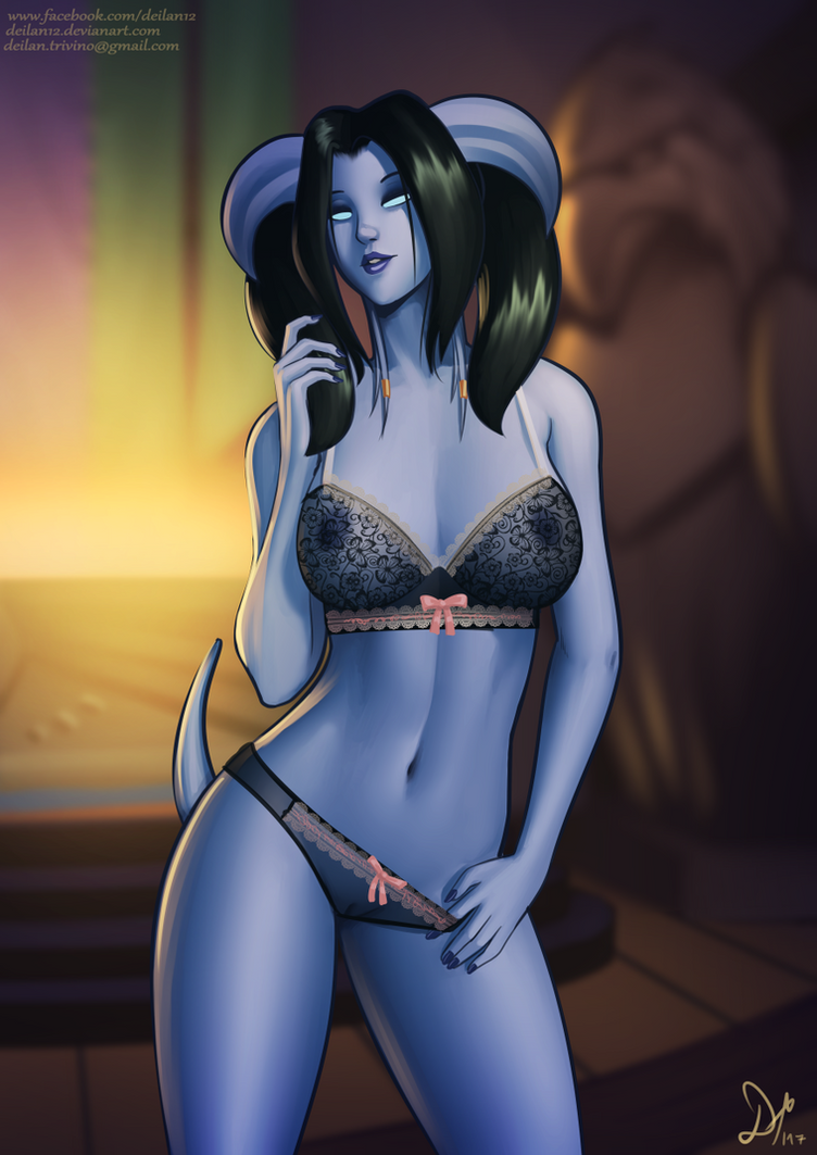 Blizzard draenei female nude hentai girlfriend
