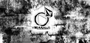 volcom wall by typotypical