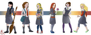 All the Hogwarts Ladies