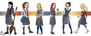 All the Hogwarts Ladies