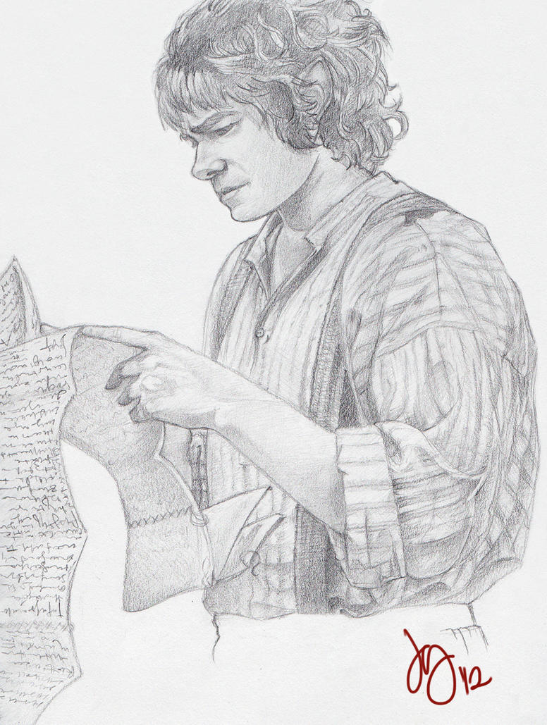 The bravest little hobbit of them all by limlight on for The hobbit coloring pages