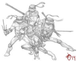 TMNT! by Limlight