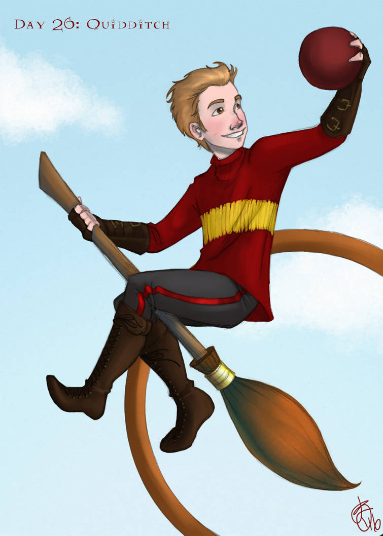 Day 26: Quidditch by Limlight
