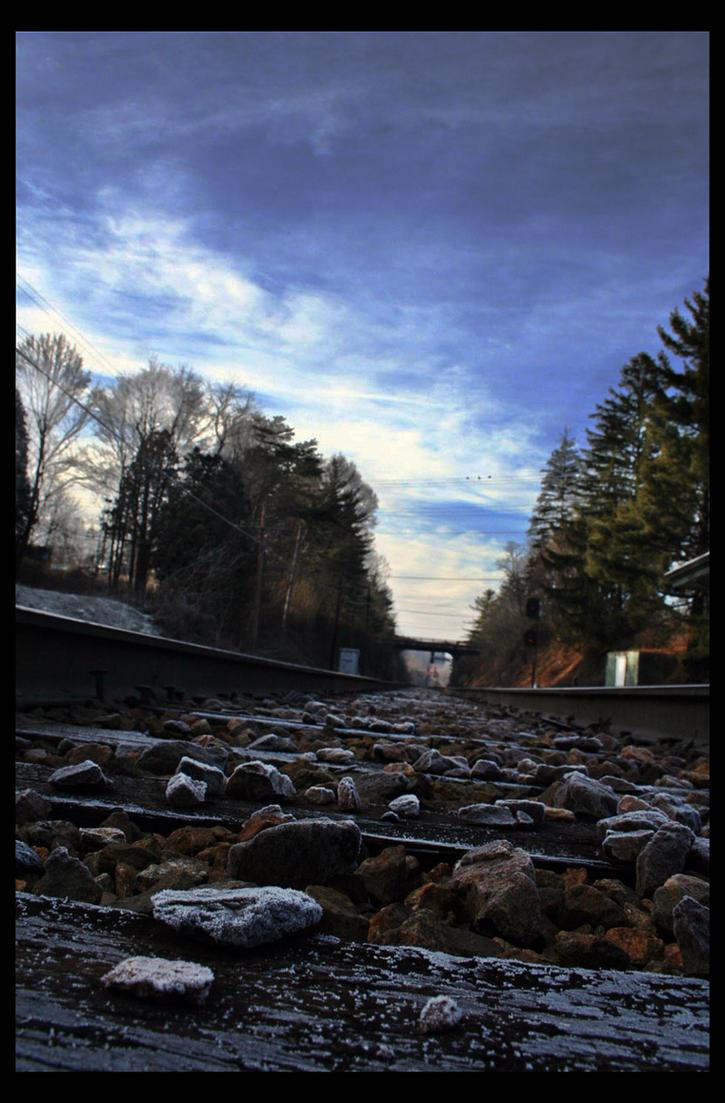Train Tracks by CrimsonImp