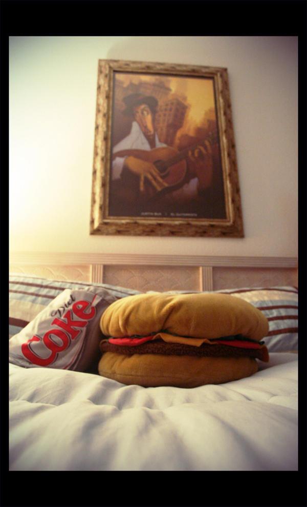 Pillow Junkie by CrimsonImp