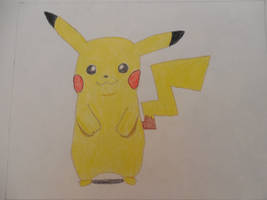 Super Smash Bros for Wii U/3DS Pikachu by Mario9919