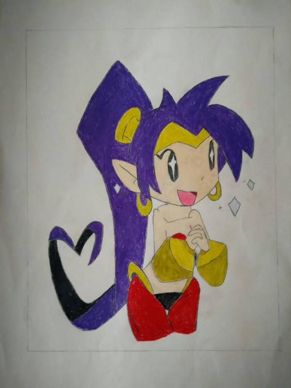 Shantae Dwaaaaah! by Mario9919