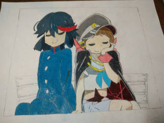 WIP Let's Go On a Date Ryuko-chan! by Mario9919