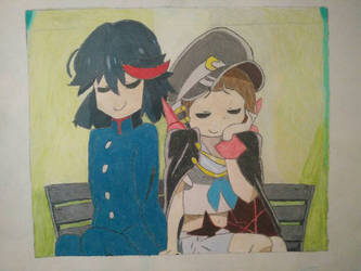 Let's Go On a Date Ryuko-chan! by Mario9919