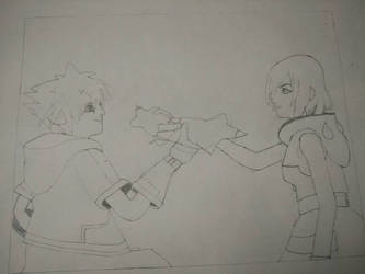 WIP - Destined Romance Sora x Kairi (working title by Mario9919