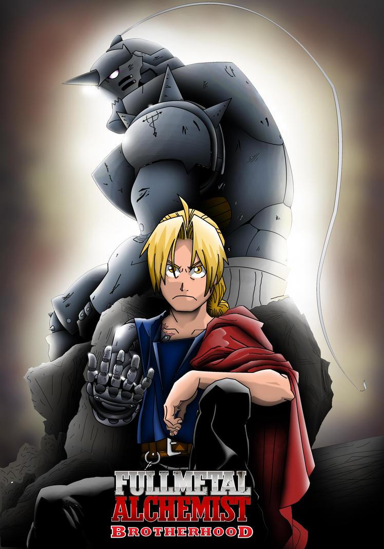 Image result for fullmetal alchemist poster