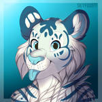 Commission: White tiger