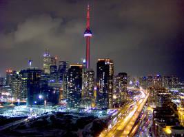 Toronto 30 floors up by sanders66