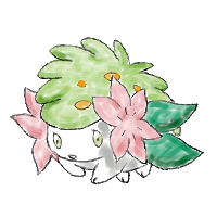 Shaymin by TheLittleNymph