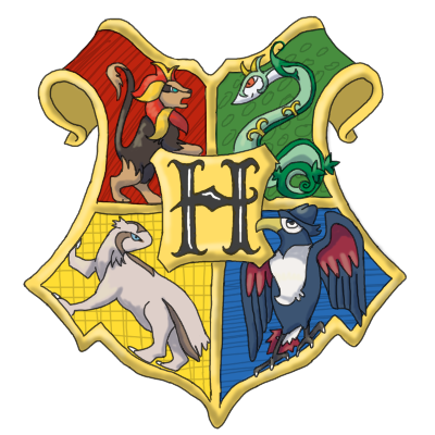 Hogwarts Crest by TheLittleNymph