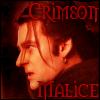 Crimson Malice by PhantomOfTheOpera