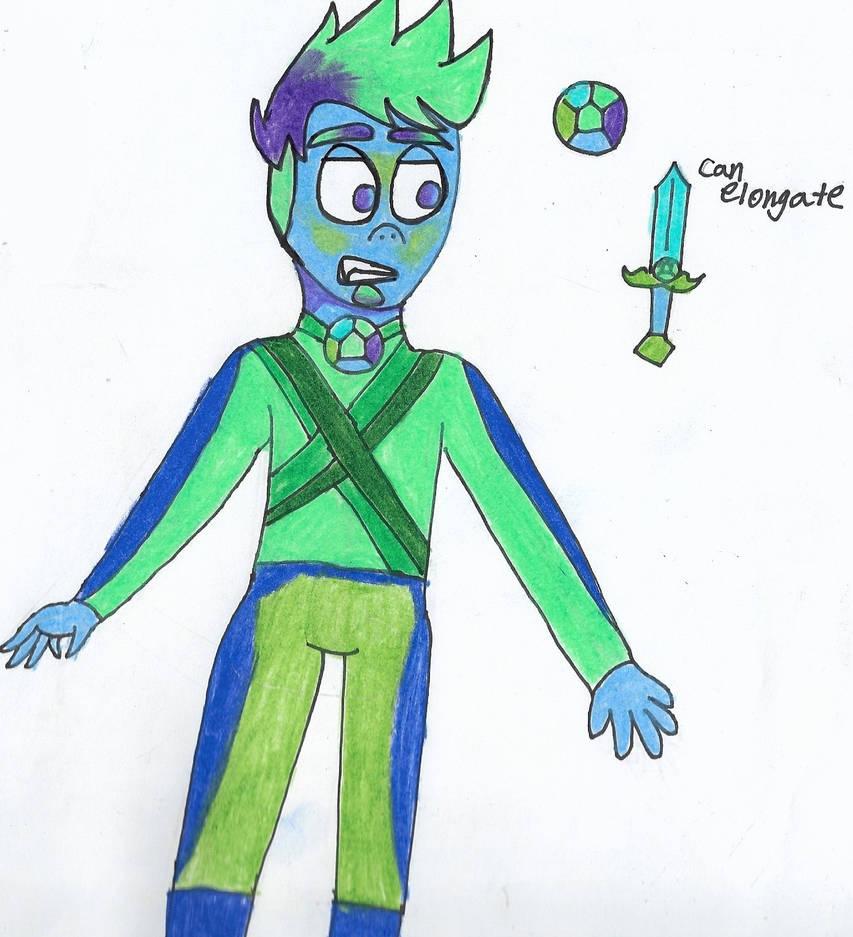 Updated Gemsona: Peacock Topaz by CoolCordova
