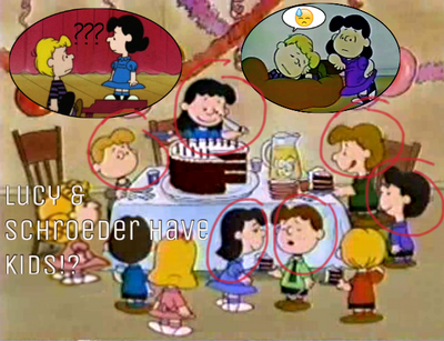 Lucy and schroeder's kids!? by luroedershipper
