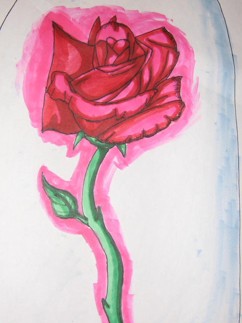 Beauty And The Beast Flower By Kloudraws On Deviantart