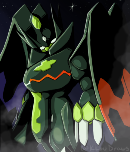 Zygarde -Perfect Form- by KLouDraws on DeviantArt