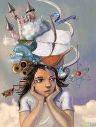 What's inside your head? by reineke