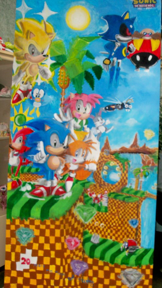 Sonic The Hedgehog Green Hill Zone Act 4 By Poppin7581 On Deviantart