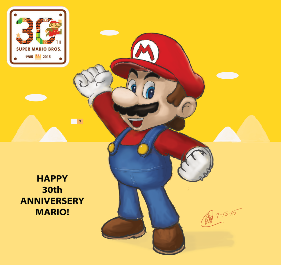 Happy Birthday Mario by poppin7581