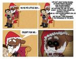 When Freddy is Santa Claus