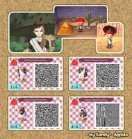Animal Crossing QR Code: Gaara - Chuunin Exams