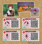 Animal Crossing QR Code: Gaara - Retrieval