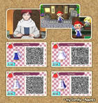 Animal Crossing QR Code: Gaara - Kazekage