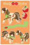 Sandy Apples Reference Sheet by Sandy--Apples