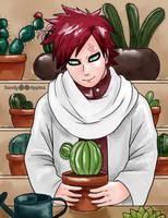 Cacti Caretaker by Sandy--Apples